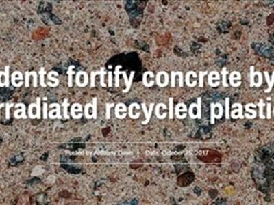 تقویت خصوصیات بتن با افزودن پلاستیکهای بازیافتی