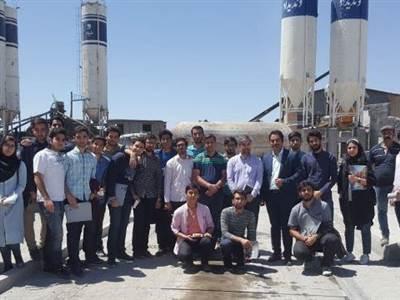 بازدید دانشجویان دانشگاه علم و صنعت ایران از کارخانه ونديداد