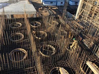پروژه بتن ریزی قالب لغزنده کارخانه آرد پرلیت